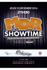 Mdr show time plateau d'humoristes