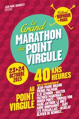 Marathon du Point Virgule #17 - Elie Semoun et Tex