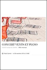Midi musical - Concert vents et piano
