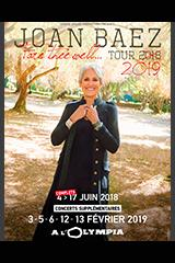 Joan Baez - Fare thee well... Tour 2018/2019