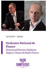 Orchestre National de France - Rites funèbres