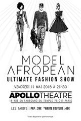 Model Afropean Ultimate Fashion Show
