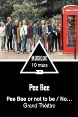 Pee Bee Or Not To Be jusqu'à 29% de réduction