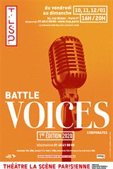 Battle Voices Corporates - 1ère édition 2020 jusqu'à 12% de réduction