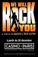 We will rock you jusqu'à 50% de réduction